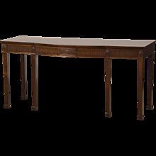 Adam Style Antique English Mahogany Presentation/Serving Table, circa 1860