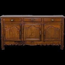 Antique French Louis XVI Oak Buffet Credenza circa 1800