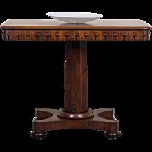 Antique English William IV Mahogany Table circa 1835