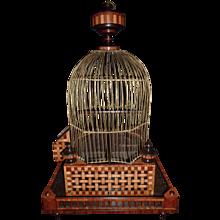 A Dutch Early 19th Century Birdcage