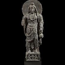 Maitreya, Bodhisattva of the future ~ Ancient region of Gandhara ~ c. 2nd/3rd century, Kushan Period