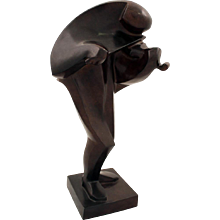 Ferdinand Parpan sculpture