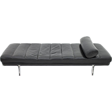 Leather & Steel Daybed by Horst Brüning, Kill International