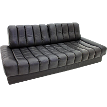 De Sede Leather Daybed and Sofa DS 85, Switzerland 1960`s