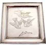 Victorian Sterling Silver Tray by Whiting
