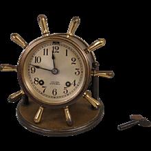 Chelsea Brass Ship's Bell Clock