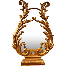 Neoclassical Italian Giltwood Mirror