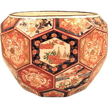 Japanese Meiji Period Planter
