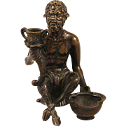 French 19th Century Bronze of Satyr