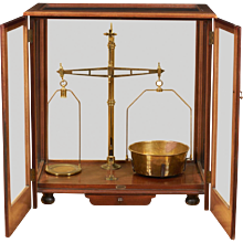 Large Mahogany Cased Scale