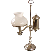 American Nickel Silver Student's Lamp