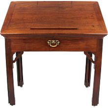 George II Mahogany Architect's Desk