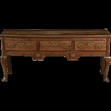 English Oak 18th Century Dresser Base