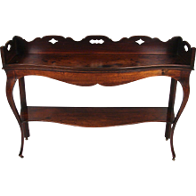 George III Period Mahogany Server