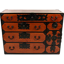 Japanese Isho Tansu Chest Meiji Period