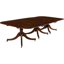 George III Mahogany Dining Table