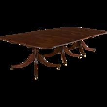 George III Mahogany Dining Table