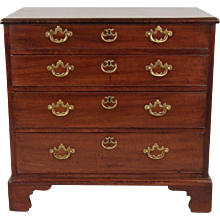 George III Mahogany Bachelor's Chest of Drawers