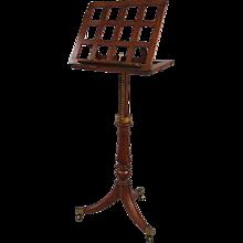 Regency Mahogany Adjustable Music Stand