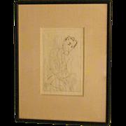 German Print of a Gentleman by Grossman
