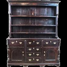 1850s Welsh Anglesey Oak Dresser