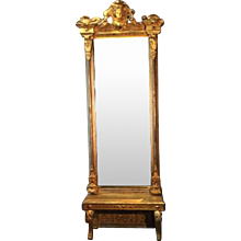 18th Century English Pier Mirror