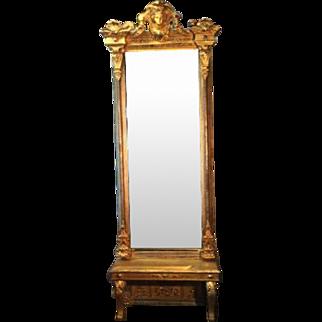 18th Century English Pier Mirror