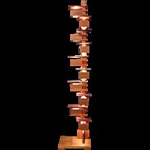 Mahogany Floor Lamp