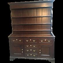 Circa 1780's Anglesey Oak Cupboard