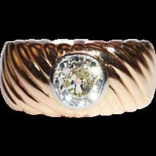 Antique 1.35ct Diamond Solitaire Ring, Engagement