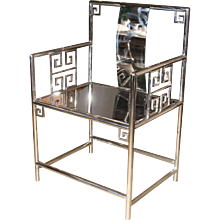Stainless Steel Armchair