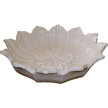 Decorative White Marble Bowl