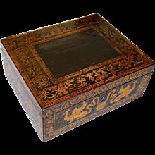 English Regency Period Penwork Box