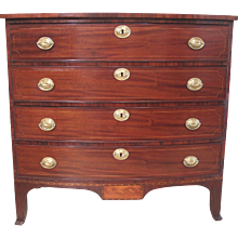 Portsmouth, New Hampshire Federal Chest of Drawers