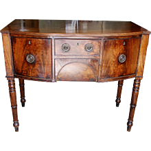 Small English Regency Sideboard or Brandy Board
