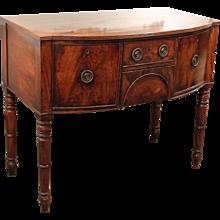 Small English Regency Sideboard or Brandy Board