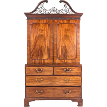George III Period Linen Press