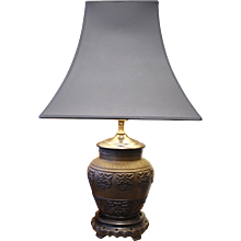 Chinese Bronze Vessel Lamp