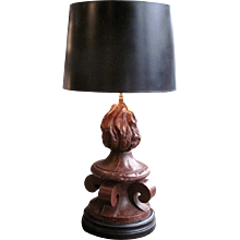 Large Architectural Element Lamp