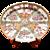 Rose Medallion Oval Platter
