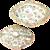 Rose Medallion Covered Vegetable Dish