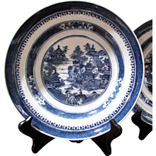 Early 19th Century Nanking Porcelain Shallow Bowl