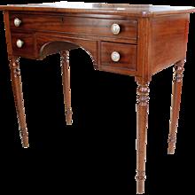 Regency Mahogany Low Boy Table