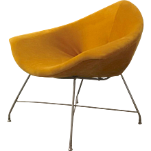Mid-Century Italian Lounge Chair by Augusto Bozzi