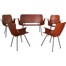 'Medea' Salon Set of Armchairs and Sofa, Vittorio Nobili, 1955