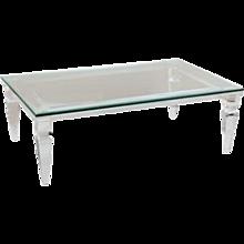 Acrylic & Glass Cocktail Table