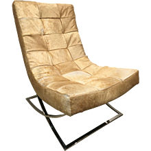 Waffle Tufted Occasional Chair