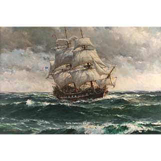 """Jack Gray - """"Heavy Weather on Crossing to France"""""""