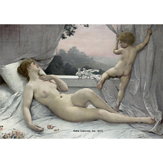 Louis-Joseph Courtat: Le Réveil de Vénus (The Awakening of Venus)