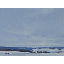 Snow in Mondovi, Study
